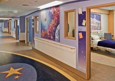 Goldmanfineart-Rady's Children's-Mural-Corridor-Healing Art