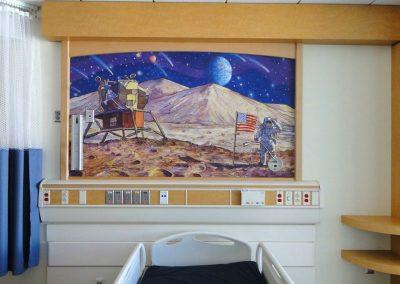 Goldmanfineart-Rady's Children's-Mural-Patient Room-Healing Art