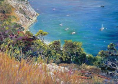 kengoldmanfineart-Above Avalon-Pastel-22x30- SOLD