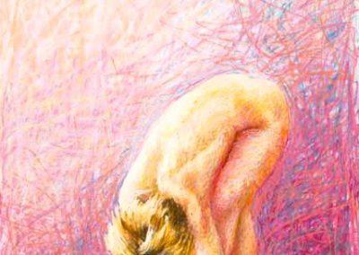 stephaniegoldmanfineart-Awakening-Pastel-34x22