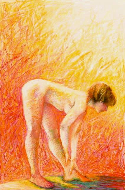 Stephanie_Goldman-Listening-Pastel-34x22