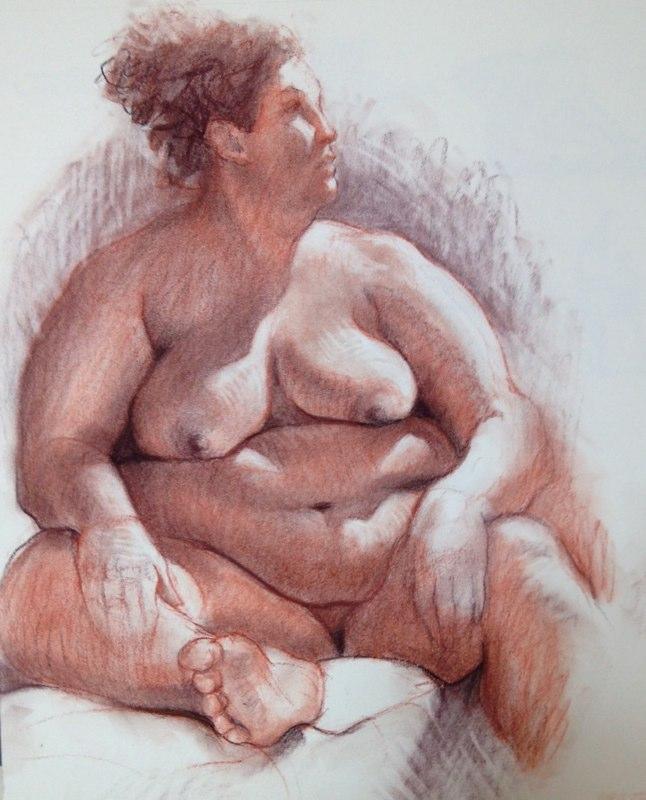 Ken_Goldman-Jennifer Sanguine-Charcoal Drawing_ Detail-14x11