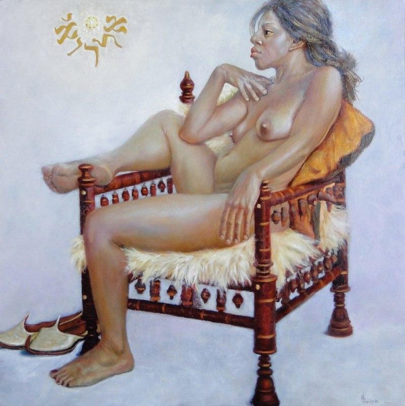 Stephanie Goldmanfineart-Hagar-The-Mystic-Oil-40x30