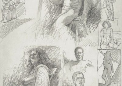 kengoldmanfineart_Graphite_Figure Drawing_24x18