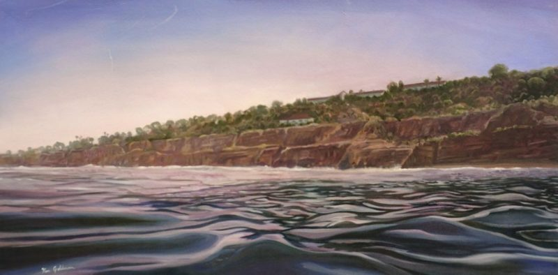 Ken Goldman_Early Morning Glass_Oil_36x48 SOLD - Giclee Available