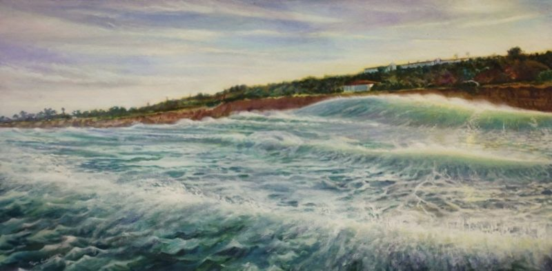 Ken Goldmanfineart_Early Morning Offshore_Oil_36x48 - SOLD - Giclee Available