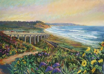 kengoldmanfineart_Del Mar Vista_Oil_30x40 - SOLD - Giclee Available