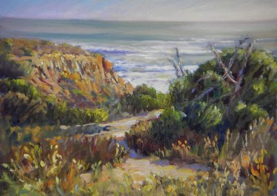 kengoldmanfineart_Sunset Cliffs_Landscape_11x14 - SOLD - Giclee Available