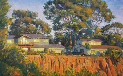 Plein Air Painting in the Golden Hour-On Location | Ken Goldman