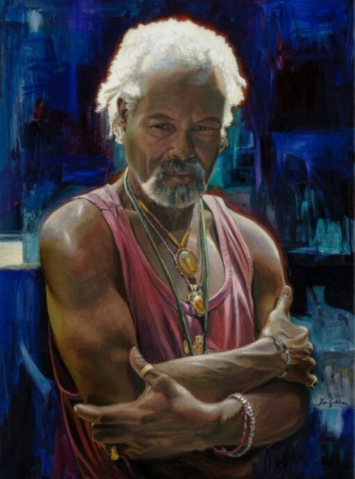 Ken Goldman: Paulo Cristobal, Watercolor 30x22