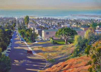 kengoldmanfineart_Landscape_Above Ocean Beach_18x24 - SOLD - Giclee Available
