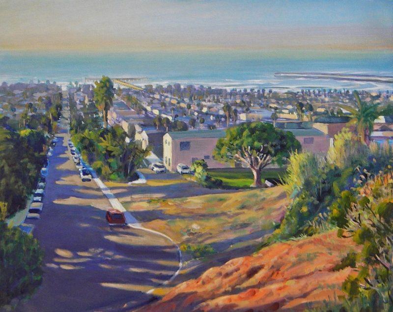Ken Goldmanfineart_Landscape_Above Ocean Beach_18x24 - SOLD - Giclee Available