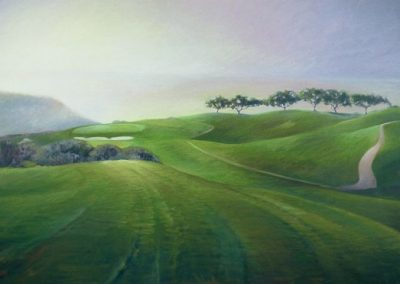 kengoldmanfineart_Torrey Pines South Hole #2_Oil_36x48 - SOLD
