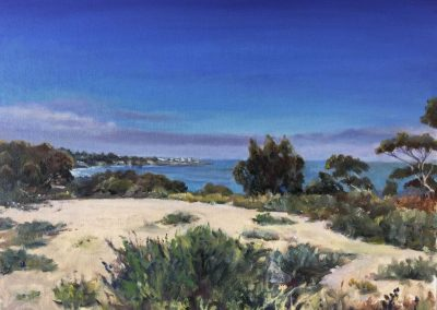 kengoldmanfineart_UCSD La Jolla Vista_Oil_14x18 - SOLD