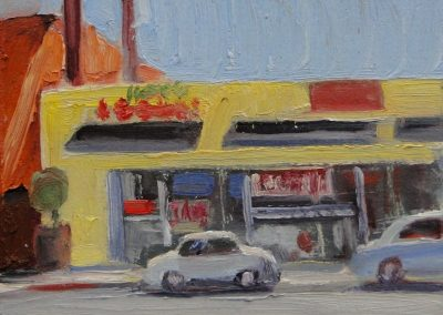 kengoldmanfineart_Yellow Store_Oil _8x8