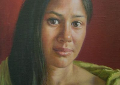 stephaniegoldmanfineart-Alexa-Oil-10x8 -Commission  SOLD