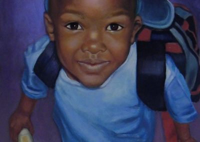 stephaniegoldmanfineart_Boy with Airplane-Shirt_Oil-48x24