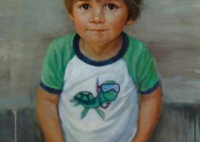 stephaniegoldmanfineart_Boy-with-Turtle-Shirt_Oil-48x24