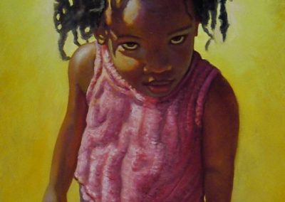 stephaniegoldmanfineart_Girl-in-Pink_Oil-48x24