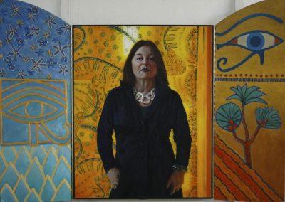 stephaniegoldmanfineart-Open-Portrait-of-Erika-Oil-45x60 - SOLD