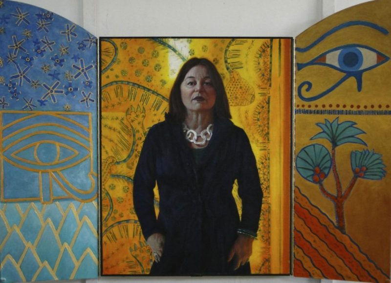 Stephanie_Goldman-Open-Portrait-of-Erika-Oil-45x60 - SOLD
