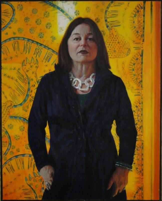 Stephanie Goldmanfineart-Portrait-of-Erika-Oil-40x30 - SOLD