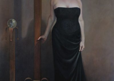 stephaniegoldmanfineart-Portrait-of-an-American-Woman-Oil-84x60