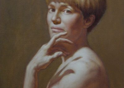 stephaniegoldmanfineart-The-Gesture-Oil-20x16 - Commission SOLD