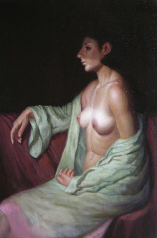 Stephanie Goldmanfineart-Widowed-Bathsheba-Oil-36x24