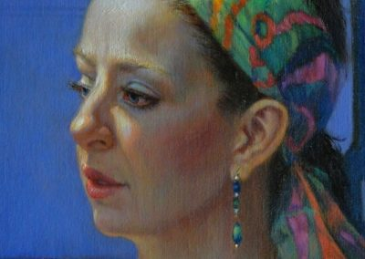 stephaniegoldmanfineart-Zara-Oil-14x11