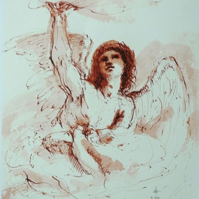 Stephanie_Goldman_Theme_Giclee_An Angel after Guercino - 12