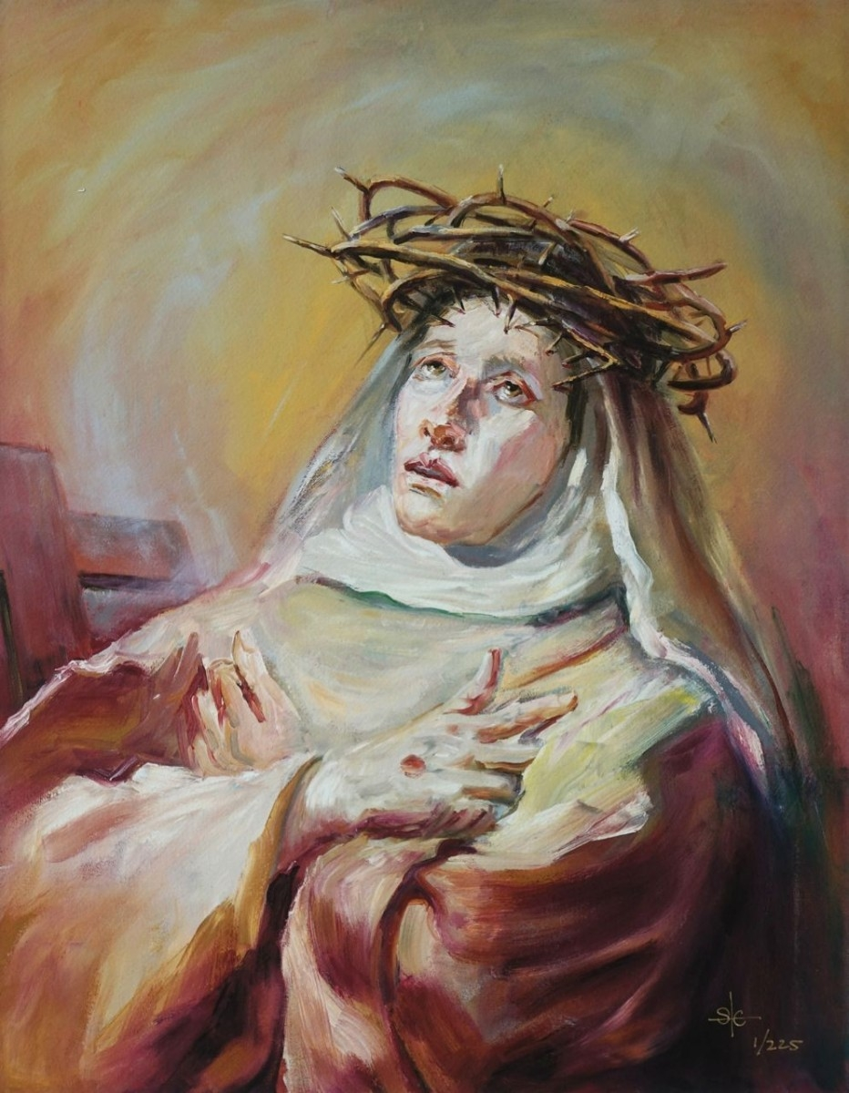 Stephanie_Goldman_Theme_Giclee_Saint Catherine of Siena after Tiepolo- 16