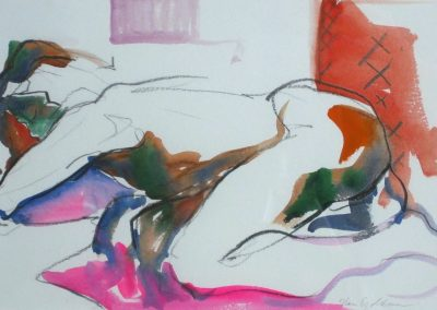 kengoldmanfineart-5 Minute Study-Watercolor-6x8 - SOLD
