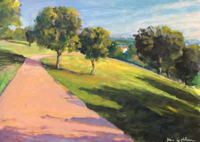 kengoldmanfineart_Acrylic_Kate Sessions Plein air 1, 8x11
