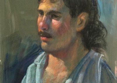 kengoldmanfineart_Pastel_Portrait Study 1, 18x12