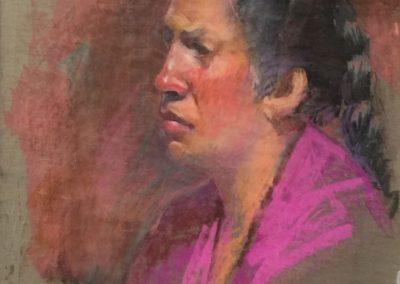 kengoldmanfineart_Pastel_Portrait Study 2, 18x12