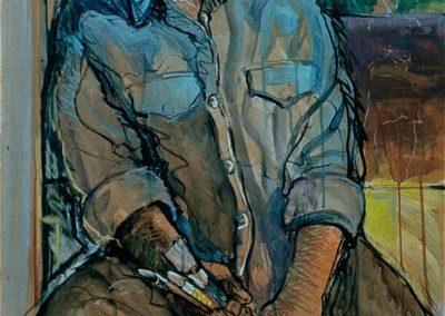 kengoldmanfineart-Zigalo-Acrylic-Figures-38x25 - SOLD