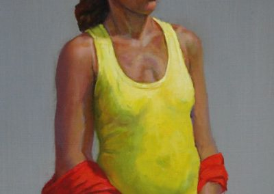 stephaniegoldmanfineart_Lemon Yellow_Oil_18x12