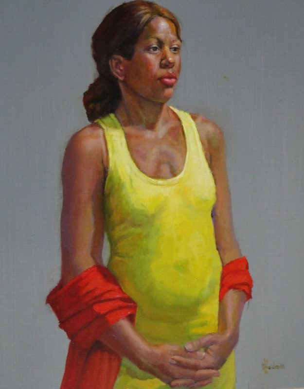 Stephanie_Goldman_Lemon Yellow_Oil_18x12