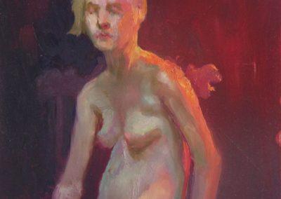stephaniegoldmanfineart_Figure Color Study, Oil 20x16 - SOLD