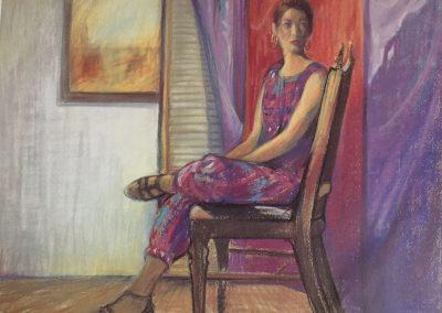 kengoldmanfineart_Pastel portraits_Portrait Study 3, 12x18
