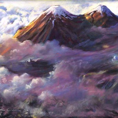 Ken_Goldman_Landscape_Giclee_Mauna Kea Summit-SOLD