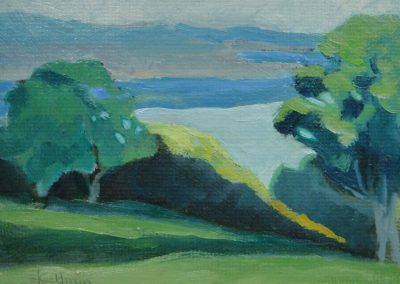 stephaniegoldmanfineart_Landscape Jewel Oil1