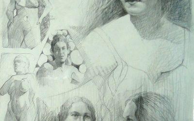Pencil Figure Drawing & Composition – Ken Goldman Athenaeum Class