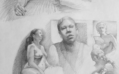 Pencil Figure Drawing & Composition – Ken Goldman