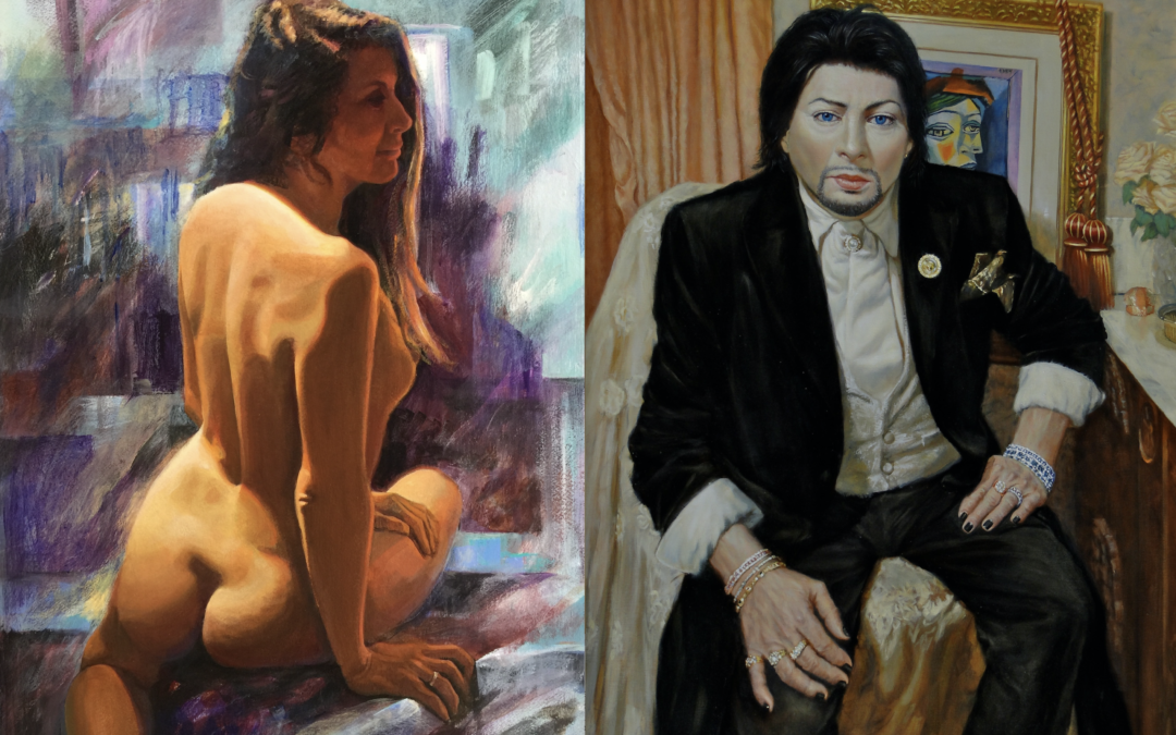 Figure Drawing/Painting: Six-Hour Long Pose—Ken and Stephanie Goldman