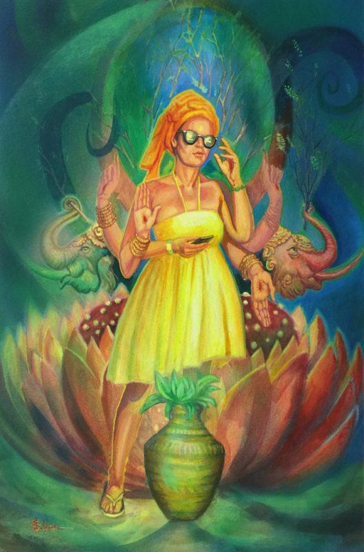 StephanieGoldmanfineart_Imagining Bhakti_27x20