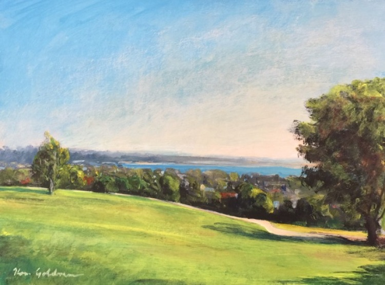Plein Air (Landscape Painting) In The Golden Hour – Online | Ken Goldman-COMPLETE