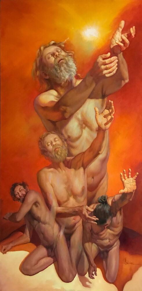 stephaniegoldmanfineart_Transition_oil on canvas_72x36