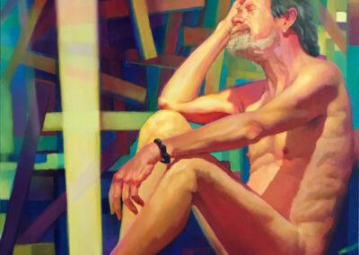 crux, oil on canvas, 48x36